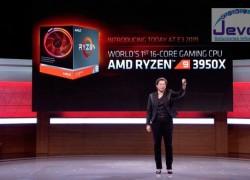 AMD presenta el Ryzen 9 3950X, el primer procesador de 16 núcleos para gaming y las nuevas Radeon 'Navi' RX 5700 XT